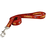 View Image 1 of Kansas City Chiefs Dog Leash