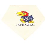 View Image 1 of Kansas Jayhawks Dog Bandana