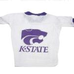 View Image 1 of Kansas State Wildcats Dog Jersey - White