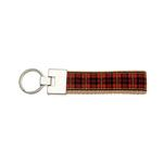 View Image 1 of Up Country Key Ring - New Red Plaid