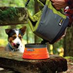 View Image 4 of Kibble Kaddie Dog-Food Carrier by RuffWear - Forest Green