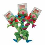 View Image 3 of Kong BraidZ Dog Toy - Frog
