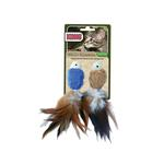 View Image 1 of Kong Naturals Crinkle Fish Cat Toy