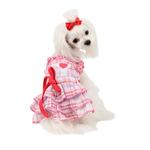 View Image 1 of Kyria Dog Dress by Pinkaholic - Pink