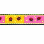 View Image 3 of Ladybug Dog Leash by Up Country