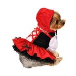 View Image 2 of Little Red Riding Hood Halloween Dog Dress
