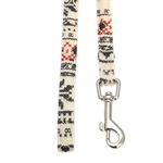View Image 2 of Little Snow Flirt Dog Leash by Pinkaholic - Ivory