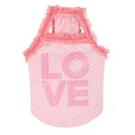 View Image 3 of Love Dog Shirt by Puppia - Light Pink
