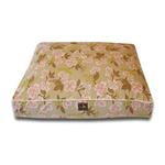 View Image 1 of Luca Luxe Rectangle Dog Bed - Meadow