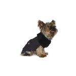 View Image 2 of Luxy Fur Dog Sweater by Dogo - Gray