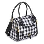 View Image 3 of M. Isaac Mizrahi Gingham Dog Carrier