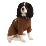 View Image 1 of Maddox Dog Sweater by Puppia - Camel