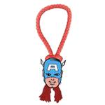 View Image 1 of Marvel Rope Tug Dog Toy - Captain America