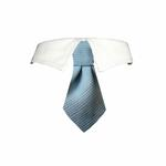 View Image 1 of Mason Dog Shirt Collar & Tie - Blue