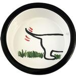 View Image 1 of Melia Dog's Bottom Ceramic Dog Bowl