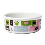 View Image 2 of Meow Flair Cat Bowl - Pink