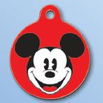 View Image 1 of Mickey Mouse QR Code Pet ID Tag