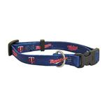 Minnesota Twins Baseball Printed Dog Collar