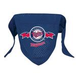 View Image 1 of Minnesota Twins Mesh Dog Bandana