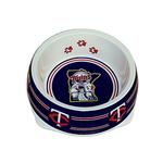 View Image 1 of Minnesota Twins Plastic Dog Bowl