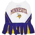 View Image 1 of Minnesota Vikings Cheerleader Dog Dress