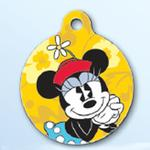 View Image 1 of Minnie Mouse QR Code Pet ID Tag