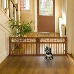 View Image 1 of Mission Aztec Freestanding Pet Gate