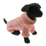 View Image 1 of Mohair Cable Knit Sweater - Pink Honeysuckle