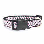 View Image 2 of Moustache Love Dog Collar - White