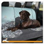 View Image 1 of Muted Floral Bench Seat Cover by Kurgo