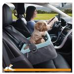 View Image 2 of Muted Floral Dog Booster Seat by Kurgo