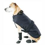 View Image 1 of Muttluks Belted Dog Coat - Black