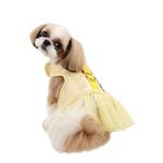 View Image 3 of Naava Flirt Harness Dress by Pinkaholic - Yellow