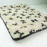 View Image 2 of Nature Nap Pet Bed - Oatmeal Bone Print