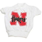 Nebraska Cornhuskers Dog T-Shirt - White