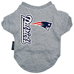 View Image 1 of New England Patriots Dog T-Shirt