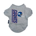 View Image 1 of New York Giants Dog T-Shirt