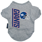 View Image 2 of New York Giants Dog T-Shirt