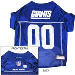 View Image 1 of New York Giants Officially Licensed Dog Jersey