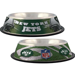 View Image 1 of New York Jets Dog Bowl