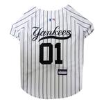 New York Yankees Officially Licensed Dog Jersey - Pinstripe