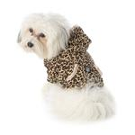 View Image 1 of Niko's Leopard Print Dog Hoodie