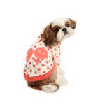 View Image 3 of Nila Hooded Dog Shirt by Pinkaholic - Orange