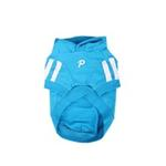 View Image 2 of Number 5 Dog Hoodie by Puppia - Sky Blue