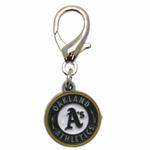 View Image 2 of Oakland Athletics Logo Dog Collar Charm