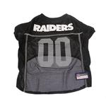 View Image 1 of Oakland Raiders Officially Licensed Dog Jersey