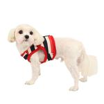 View Image 1 of Ocean Mist Dog Harness Vest by Puppia - Red