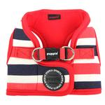 View Image 4 of Ocean Mist Dog Harness Vest by Puppia - Red