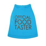View Image 1 of Official Food Taster Dog Tank - Aqua