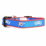 View Image 1 of Oklahoma City Thunder Reflective Dog Collar